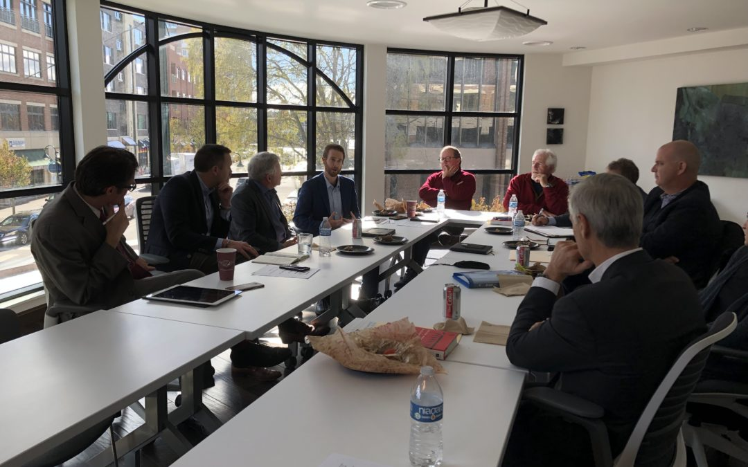 Do we fit?  Roundtable with New President of Michigan Tech & Traverse City Ecosystem Leaders.
